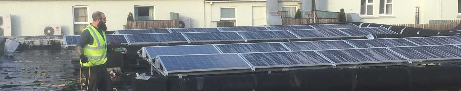 Use sunlight to generate electricity for your business